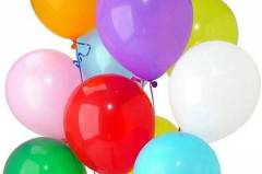 Доставка на адрес на букет от балони с хелий