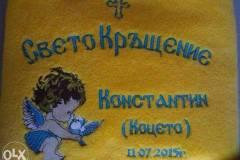 Машинна бродерия и шивашки услуги Бургас