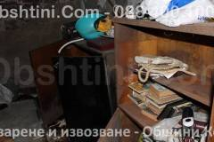 Почистване на тавани и мазета в Община София